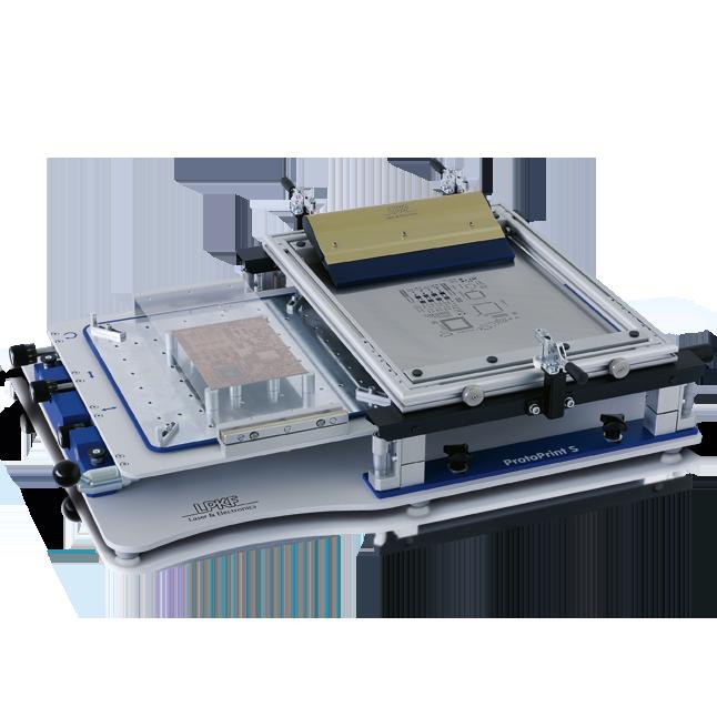 LPKF ProtoPrint S/-RP PCB solder paste printer | LPKF