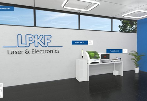 Virtueller LPKF Showroom